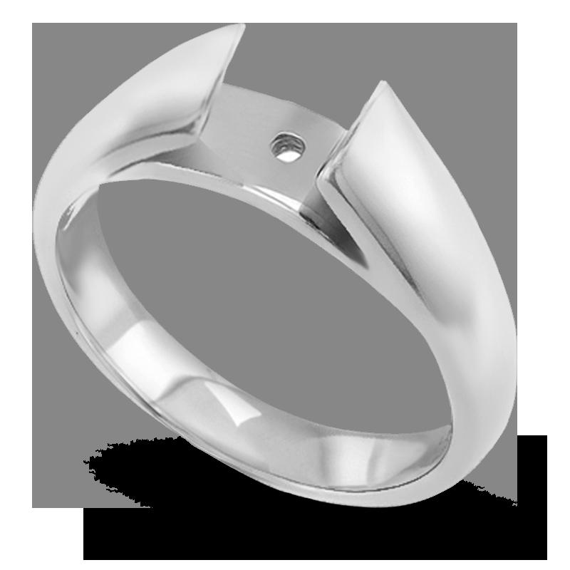 Standard view of SHPC1255 in white metal